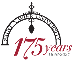 175th Anniversary logo with SXU Arch