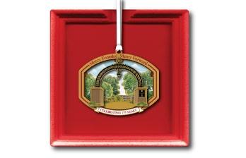 Saint Xavier University 175th anniversary christmas ornament