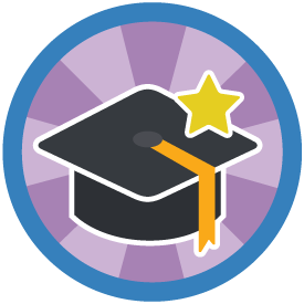 Graduation with Honors Badge