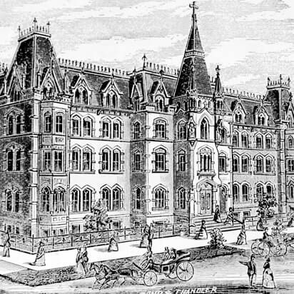 29th and Wabash Sketch of the SXU Campus