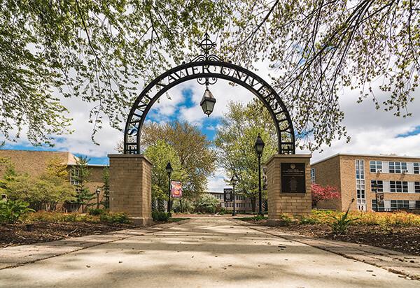 Replica of Saint Xavier College Arch