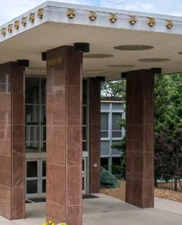 WAC Pillars/Main Entrance