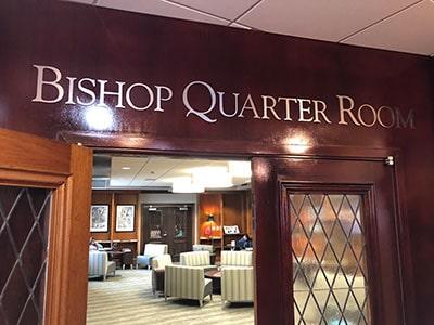 Bishop Quarter Room
