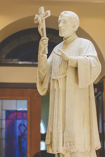 Francis Xavier statue
