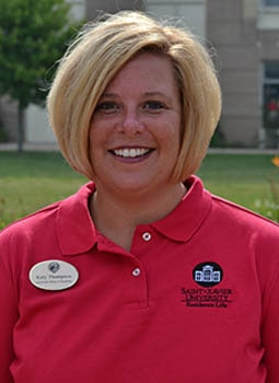 Katy Thompson, Dean of Students