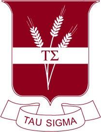 Tau Sigma National Honor Society Logo