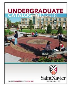university catalog saint xavier university