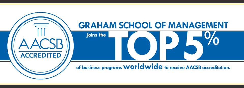 Graham School of Management is AACSB Certified