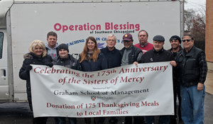 SXU's Graham School of Management Donate 175 Meals for Thanksgiving