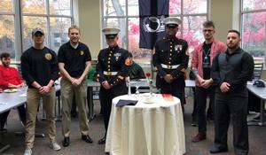 SXU Student Veterans Host Veterans Day Breakfast