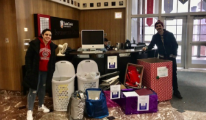 SXU Gives Back for the Holiday Season