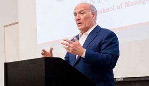 SXU's Graham School of Management Hosted Mayoral Candidate Bill Daley