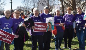 Mercy participation during the Catholic Day of Action