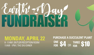 SXU Invites All to Earth Day Fundraiser on April 22