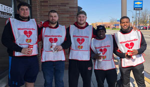 SXU Football Volunteers