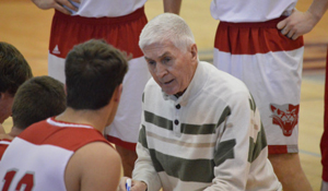 Men's Basketball Coach Tom O'Malley