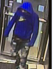 Oak Lawn robbery suspect